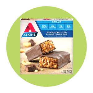 Atkins Peanut Butter Fudge Crisp Bar