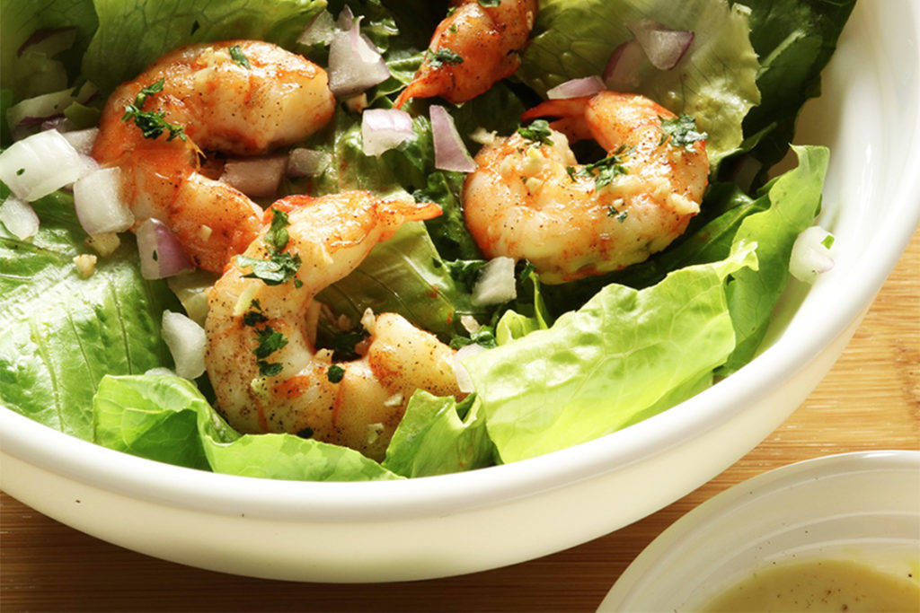 Keto Shrimp Salad Featured Image