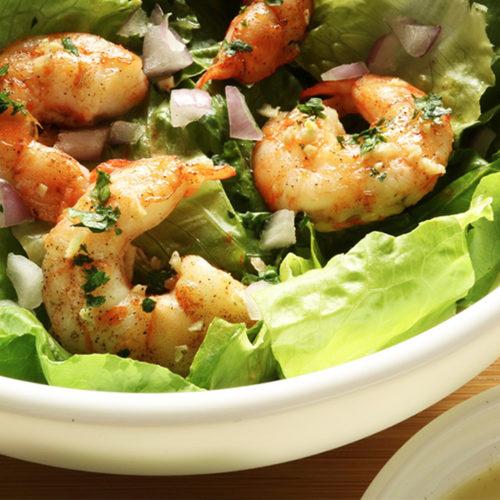 Keto Shrimp Salad Featured Image