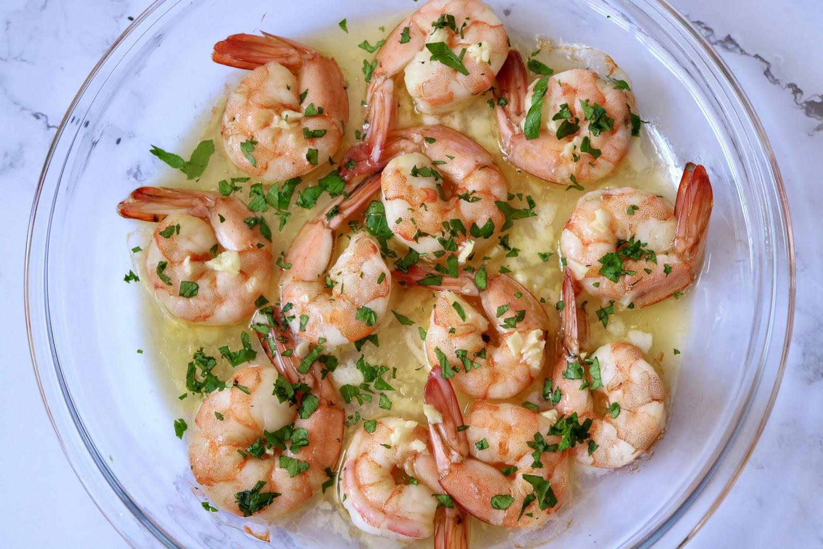 baked shrimps