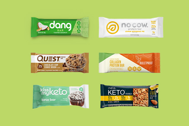 best keto protein bars green
