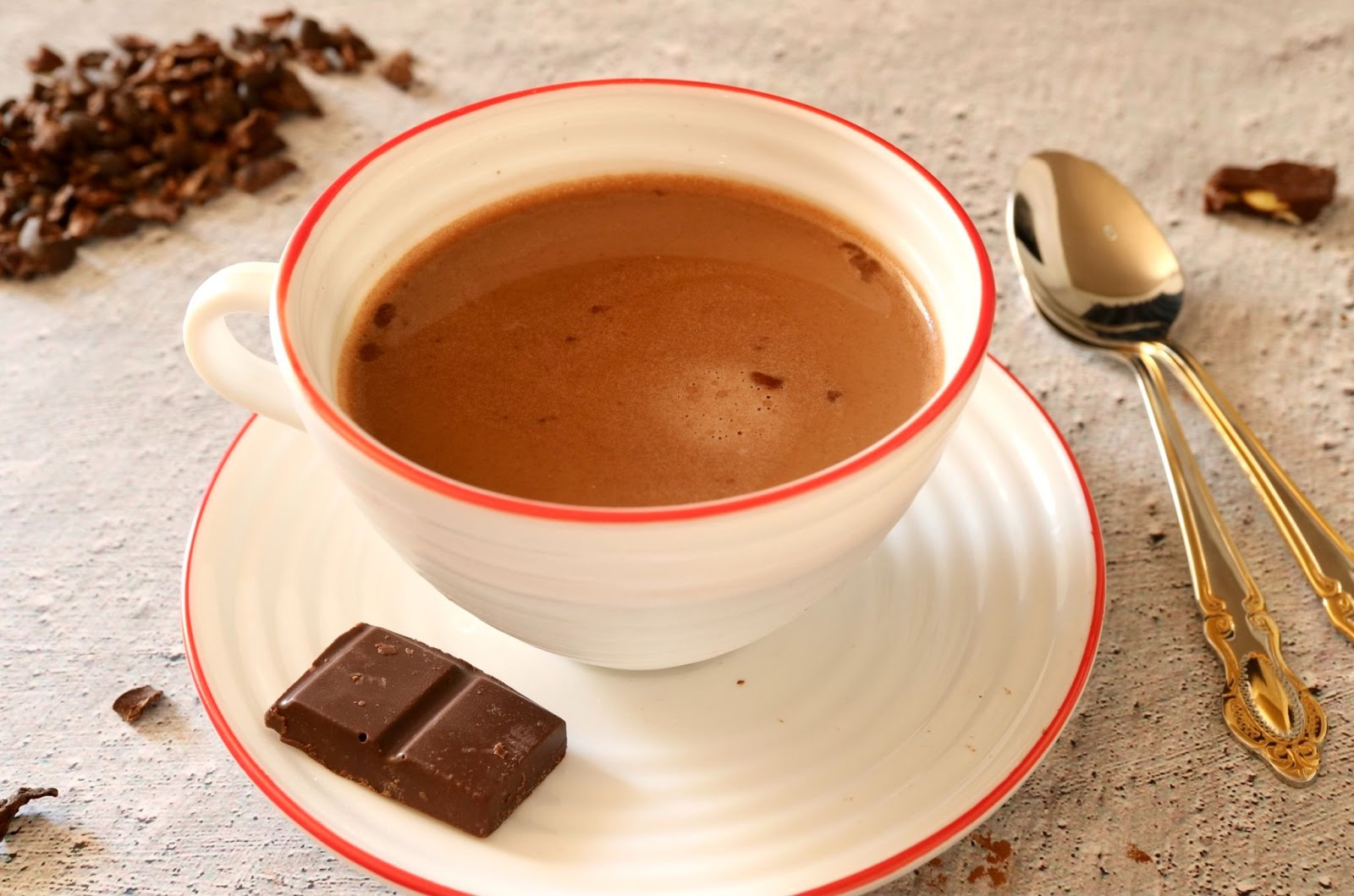 keto hot chocolate featured image